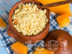 Десерт от варено просо и тиква - снимка на рецептата